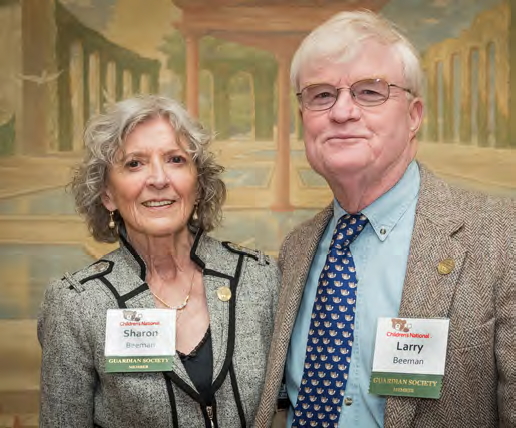 Sharon and Larry Beeman, members of